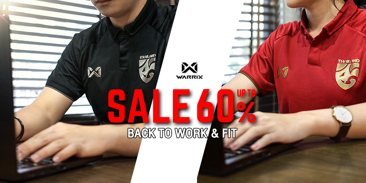Back to Work & Fit Sale up to 60%