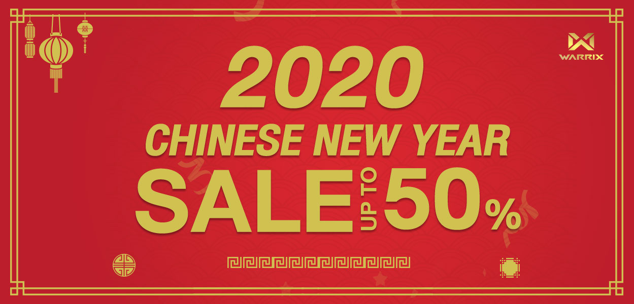2020 CHINESE NEW YEAR SALE UP TO 50%
